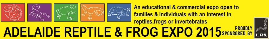 Adelaide Reptile & Frog Expo 2015